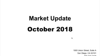 October 2018 Video Update